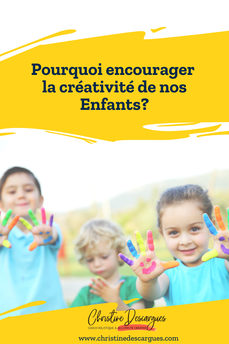 Encourager la créativité de nos enfants